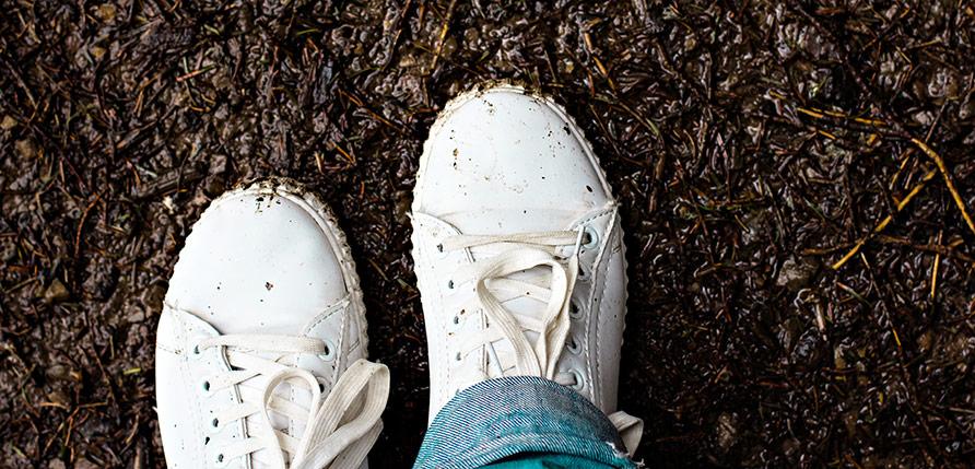 Tvätta dina Adidas-skor